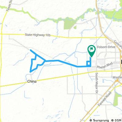 China Loop Ride
