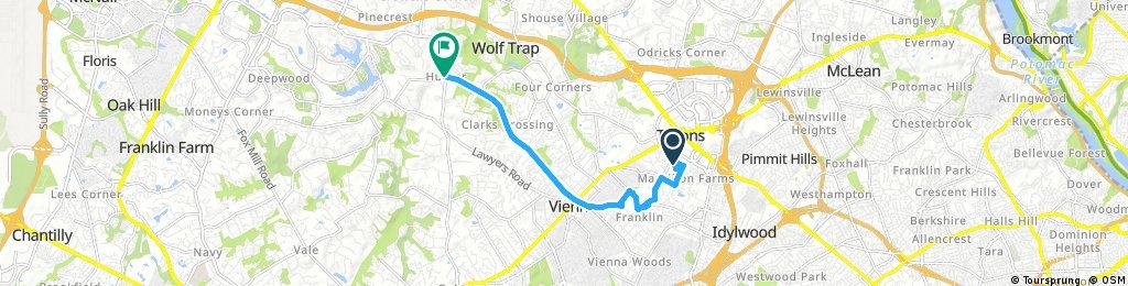 bike tour through Vienna