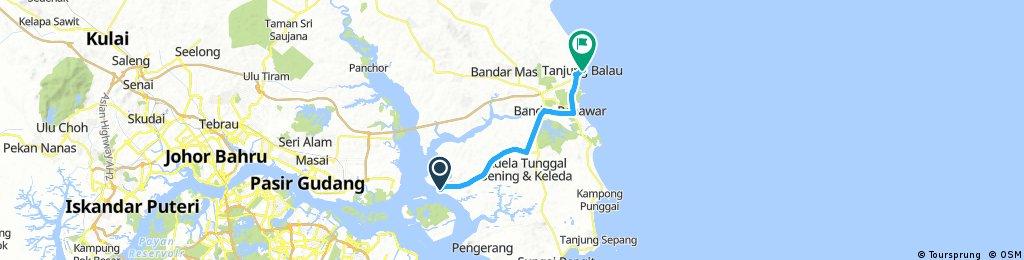 Changi To Tanjung Balau