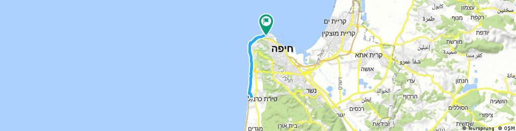 ride through Haifa