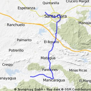 1. Etappe: Santa Clara - Hanabanilla - Editted by PM
