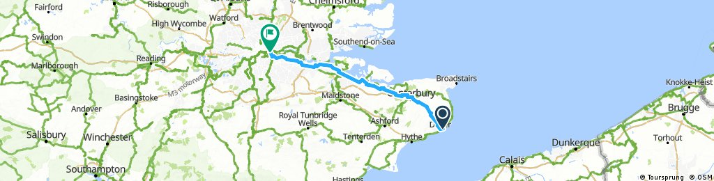 Dover to London