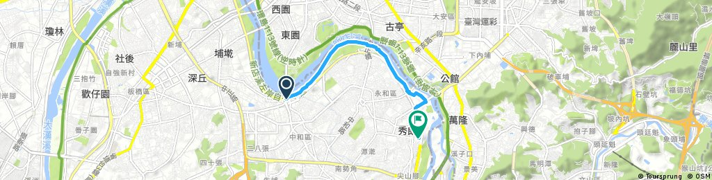 Short ride through Xiulangcun
