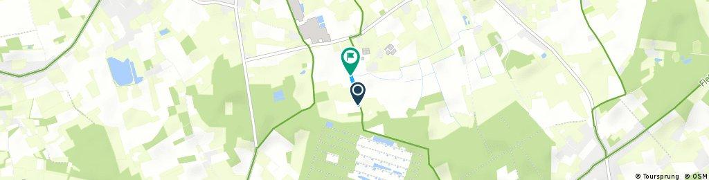 Short bike tour through Jabbeke