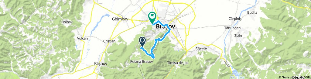 ride from (null) to Braşov