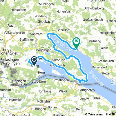 Giro del Lago di Costanza 3a tappa Iznang- Konstanz - Uberlingen
