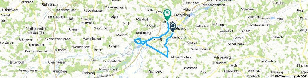 Vilsheim Nach Altdorf