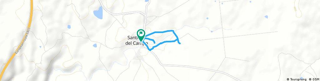 Paseo por Santiago del Campo