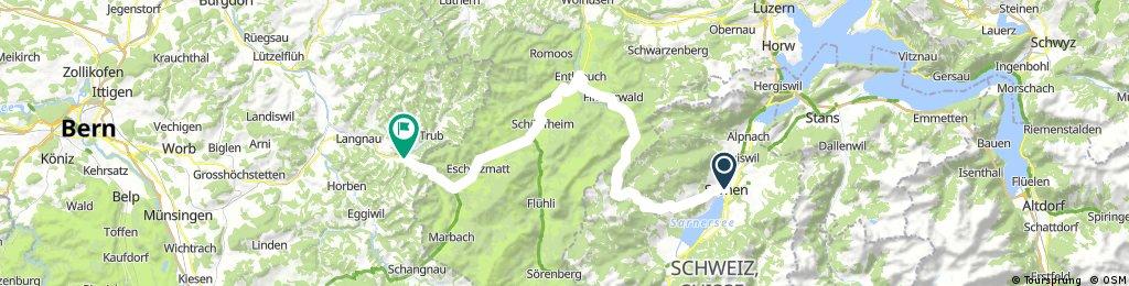 47° Nord Tour de Suisse Etappe 8