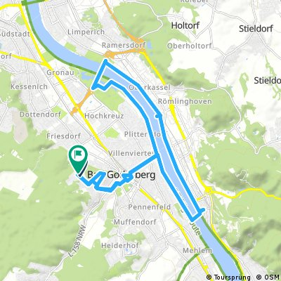 bike tour through Бонн