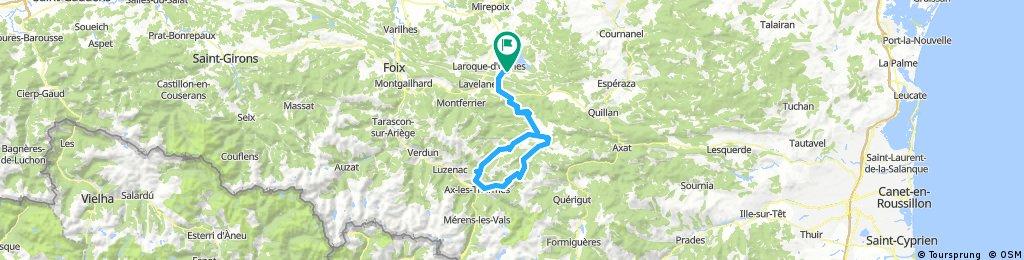 Le Peyrat - Col du Pradel