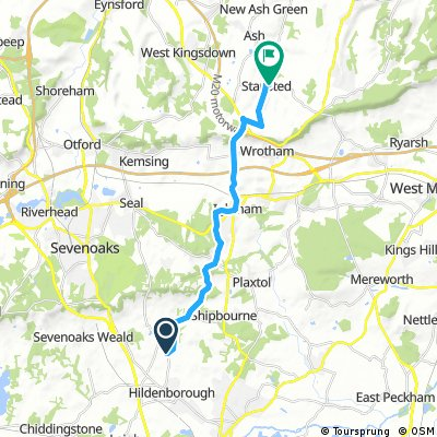 Hildenborough to Stansted