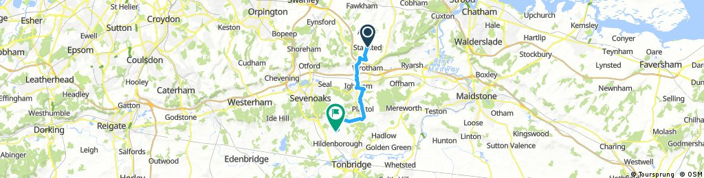 Stansted to Hildenborough