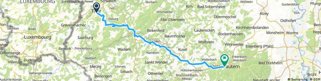 Von Trier nach Kaiserslautern