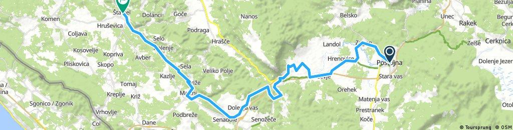 Villach-Ljubljana-Koper (7. Postojna - Stanjel)