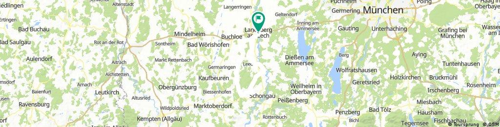 Fuchstal ü. Schwabsoien/Mundraching/B17/LL