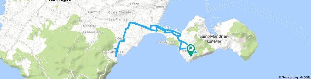 Saint-Mandrier-sur-Mer<->fabregas