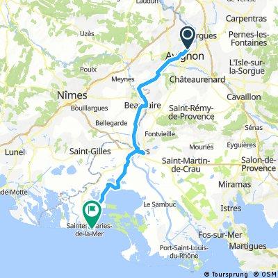 Day7 : Avignon - 13460 Saintes Maries de la Mer