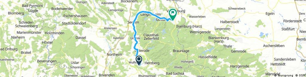 HARZ 010: Harzumrundung in 3 Tagen - 1. Teil