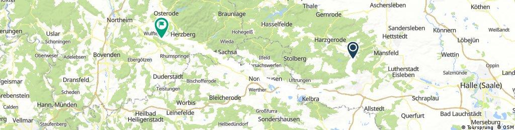 HARZ 012: Harzumrundung in 3 Tagen - 3. Teil
