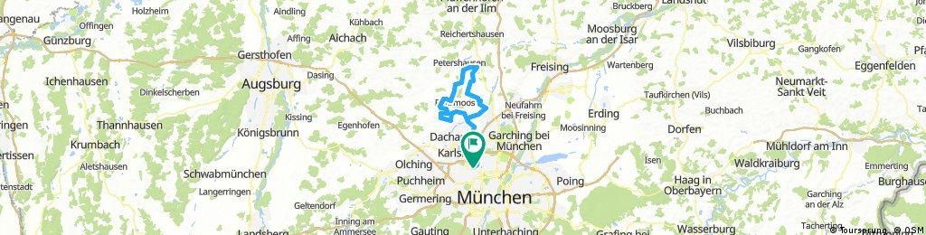 Pellheim-Vierkirchen-Weißling-Biberbach-Haimhausen
