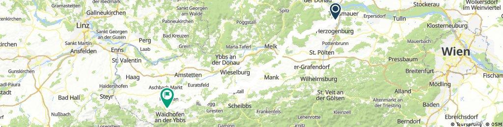 Bisamberg Obertauern Forstwege 2. Teil