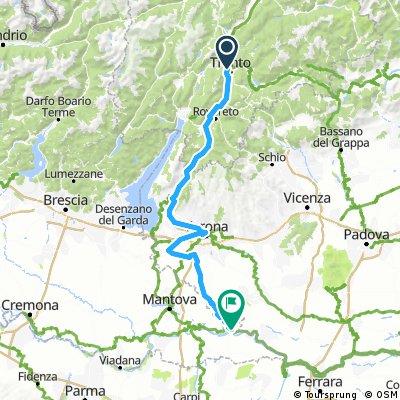Via Claudia 3 Trento-Ostiglia