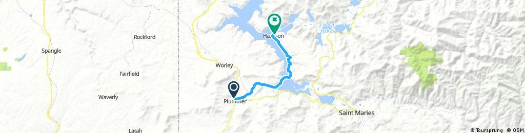 Day 4: Plummer trlhead to Osprey B&B