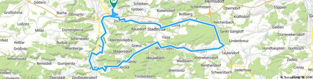 Jena - Leuchtenburg und Tälerdörfer