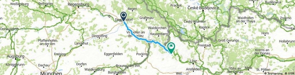 A 27 Deggendorf-Schlögen