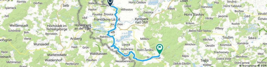 EUTIT TOUR 2017 Cyklo 51 km
