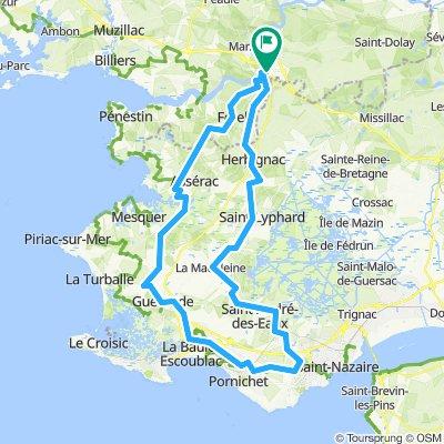 F 501: Meer + Marais bei Saint-Nazaire
