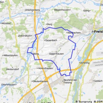 Rundtour (Neufahrn - Kranzberg)
