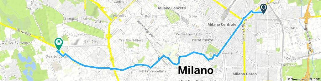 bike tour through Milan