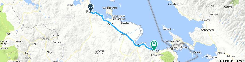 Long bike tour from 7 août 07:46