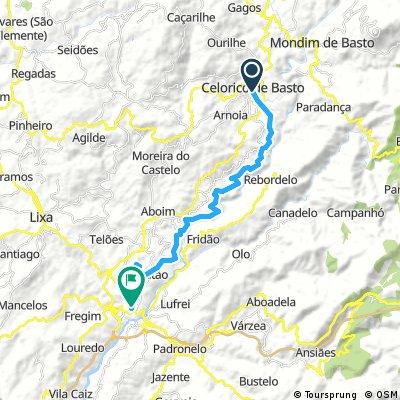 bike tour from Celorico de Basto to Amarante