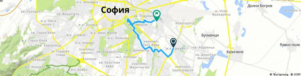 Дружба - Борисова - Гео Милев - Слатина