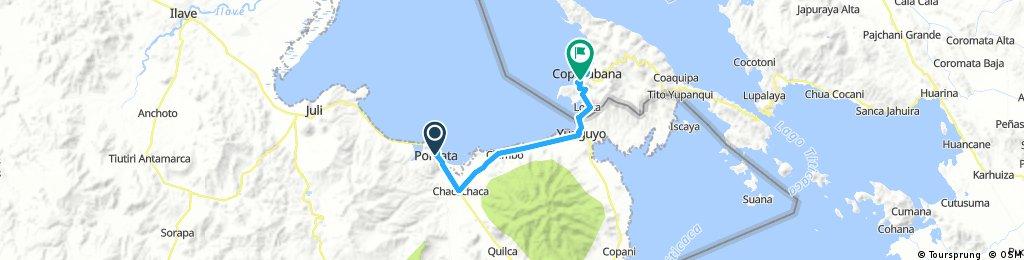 Long ride through Sahuiña
