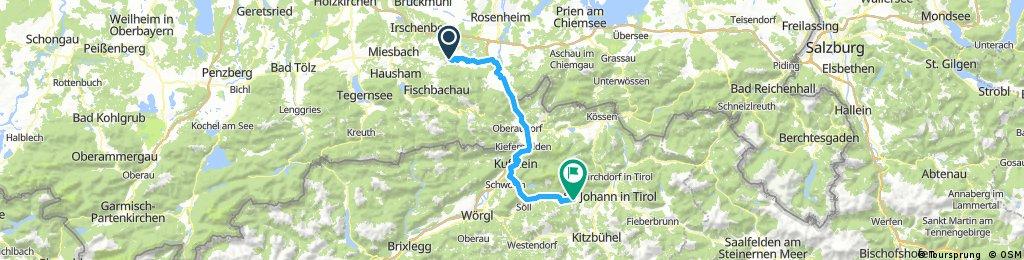 Bike Tour From Nicole's To Going, Austria