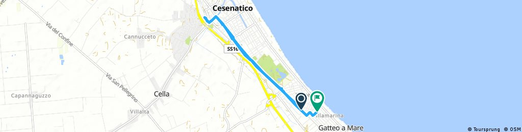 Brief bike tour through Cesenatico