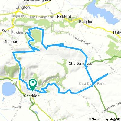 4/5 hour Mendips Mountain Bike Adventure Ride