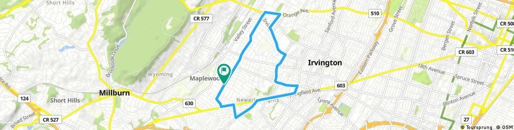 Quick ride through Maplewood