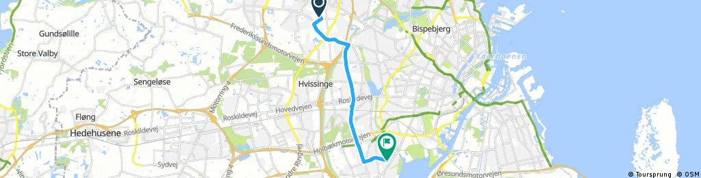 ride from Skovlunde to Hvidovre