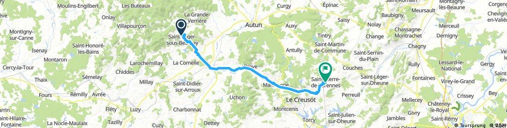 Etape 8 La Boutière Saint-Pierre-de-Varennes
