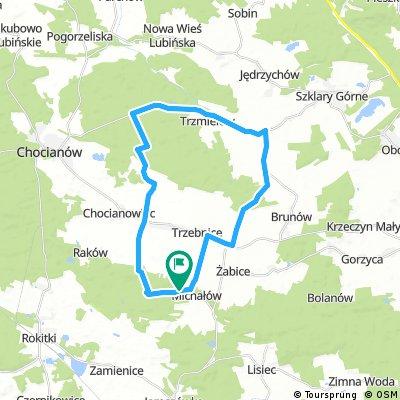 bike tour through Michałów