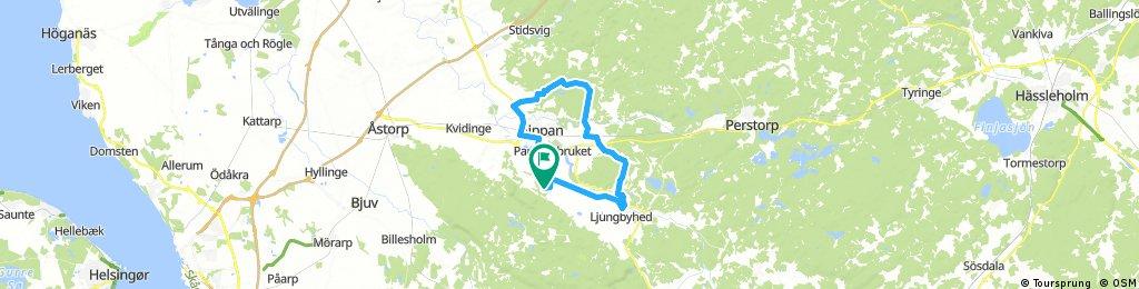 Long bike tour through Krika