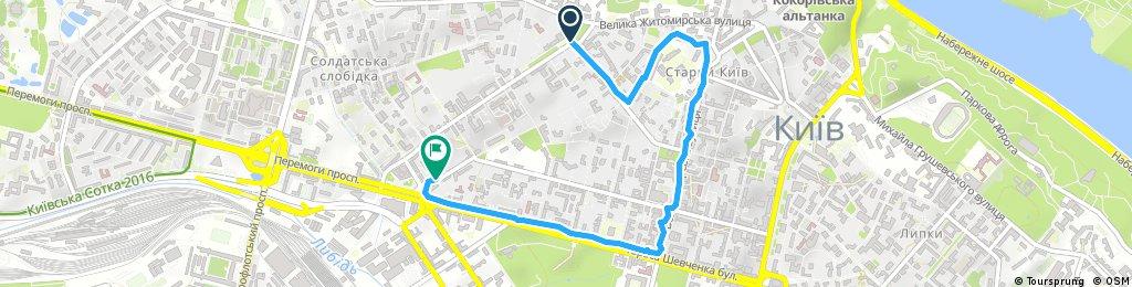 Brief longboard tour through Kyiv