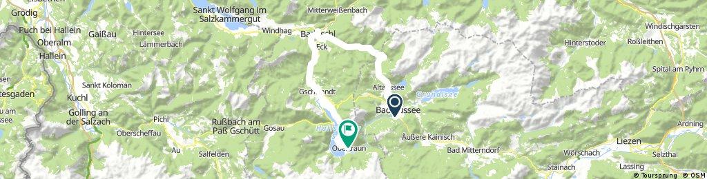 Altausee-Rettenbachtal-Bad Ischl-Obertraun