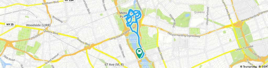 bike tour through New York