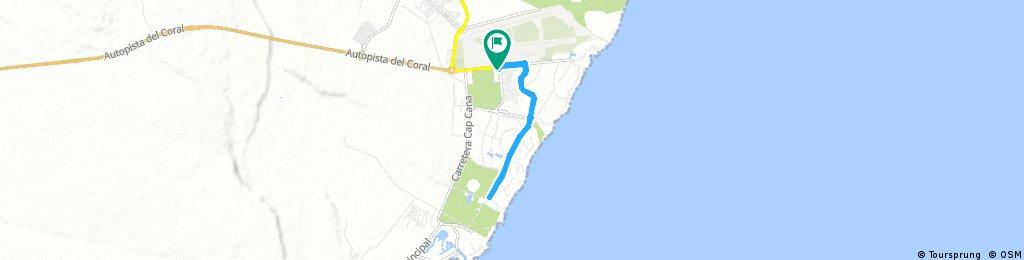 ride through Punta Cana